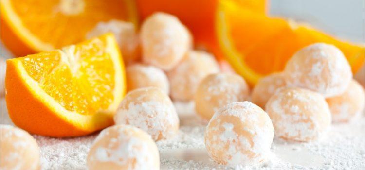 Τρουφάκια με καρότο και καρύδα