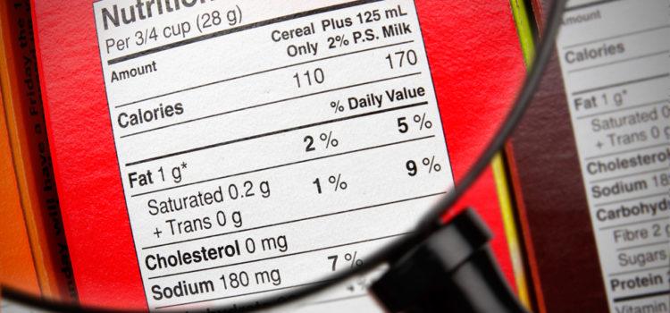 Διατροφικοί Ισχυρισμοί στις Ετικέτες Τροφίμων